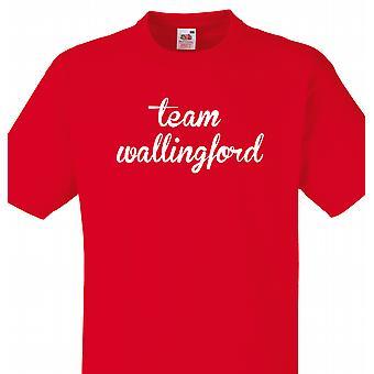 Team Wallingford Red T shirt