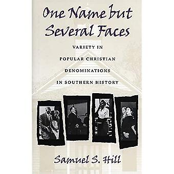 One Name but Several Faces Variety in Popular Christian Denominations in Southern History