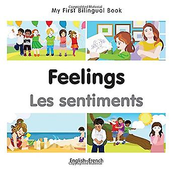 My First Bilingual Book - Feelings - French-English