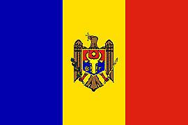 Moldova Flag 5ft x 3ft With Eyelets For Hanging