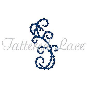 Tattered Lace MINI PEARL FLOURISH 6 Craft Cutting Die - D1263