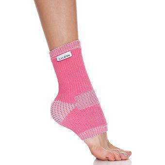 Vulkan Advanced Elastic Womens Female Ankle Sports Injury Support Pink