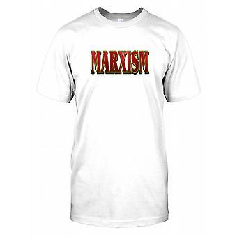 Marxismus - politischen - Verschwörung-Herren-T-Shirt