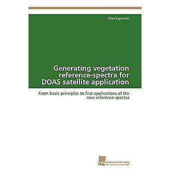 Générer des referencespectra de la végétation pour DOAS satellite demande présentée par Eigemeier Ellen