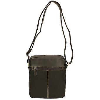 Ladies Springvale Leather Crossbody Bag 1156WB