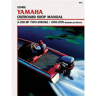 Yamaha 2-250hp 2-Stroke Outboards - (Includes Jet Drives) 1990-1995 -