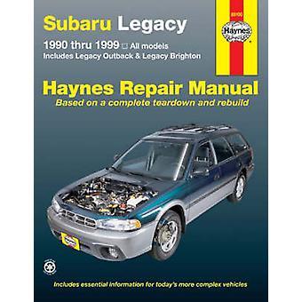 Subaru Legacy Automotive Repair Manual - 1990-1999 by Ken Freund - 978