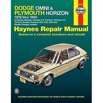 Dodge Omni and Plymouth Horizon All Models 1978-90 - Including Charge