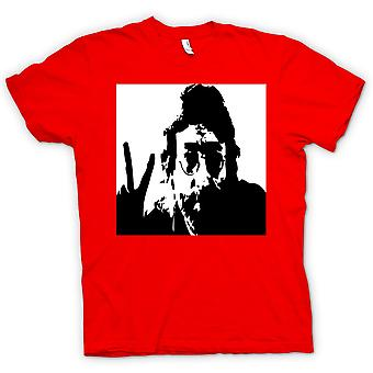 Barn T-shirt-John Lennon - Anti krig