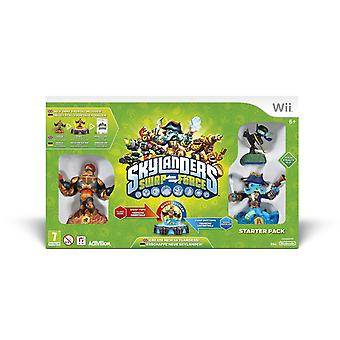Skylanders Swap Force Nintendo Wii Starter Pack Includes Blast Zone, Ninja Stealth Elf & Wash Buckler