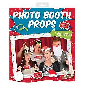 Xmas 6 Photo Booth Props