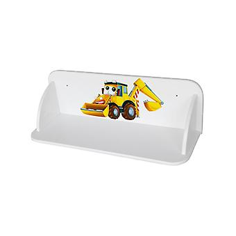 Digger Wooden Wall Mounted Bookshelf