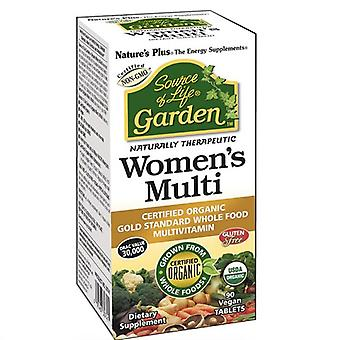 Nature's Plus Source of Life Garden Organic Womens Multi Tabs 90 (30743)