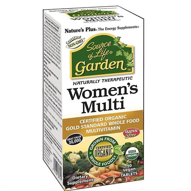 Nature's Plus Source of Life Garden Organic Womens Multi Tabs 90 (30743)