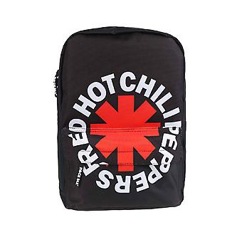 Red Hot Chili Peppers Backpack  Rucksack Bag Asterisk Band Logo  new Official