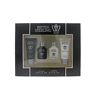 Dana British Sterling Him 4-Piece Gift Set  New In Box
