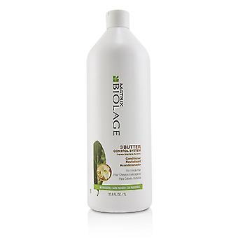 Matrix Biolage 3 Butter Control System Conditioner (für widerspenstiges Haar) 1000ml/33,8 oz