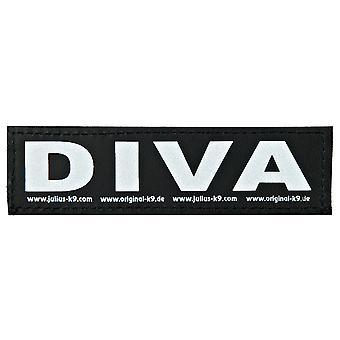 Julius K9 Velcro Sticker Diva