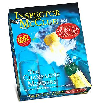 Paul Lamond Inspector McClue Der Champagner Morde Mord Mystery Dinner Party Spiel