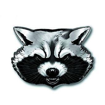 Pin - Gardiens de la Galaxie - Rocket Raccoon Pewter Lapel New Licensed 68178