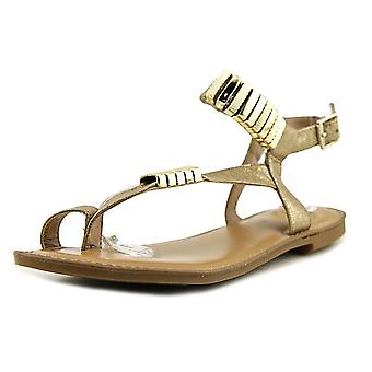 Bar III Womens Verna Fabric Open Toe Casual Ankle Strap Sandals