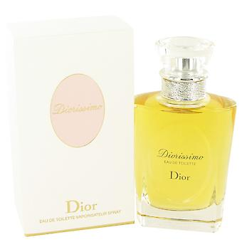 DIORISSIMO av Christian Dior Eau De Toilette Spray 3,4 oz/100 ml (kvinnor)