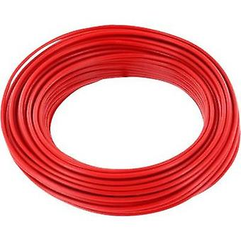 Jumper wire 1 x 0.2 mm² Red BELI-BECO D 105/10 rot 10 m