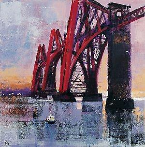 Colin Ruffell print - Forth Rail Bridge