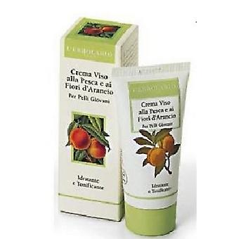 L'Erbolario Face Cream Peach and Flowers Naranjo 50 ml