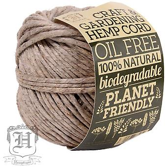 Craft & Gardening Hemp Cord 170# 125'-Natural 170NA250