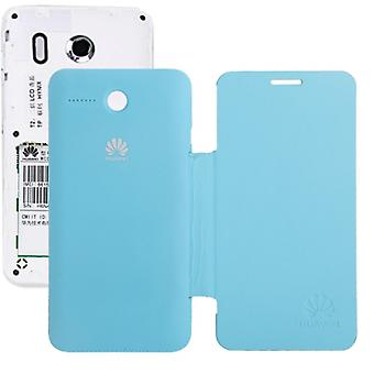 Mobile Shell flip cross for phone Huawei Ascend Y320 light blue