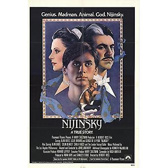 Nijinsky filmposter (11 x 17)