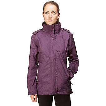 New Peter Storm Women's Glide Marl Waterproof Jacket Purple
