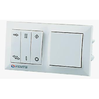 Wall control with transformer for energy-saving ventilation system TwinFresh Standard series