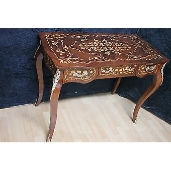 Baroque desk antique style Bureau Plat MkSr0152