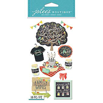 Jolee's Boutique Dimensional Stickers-Family Reunion E5051020
