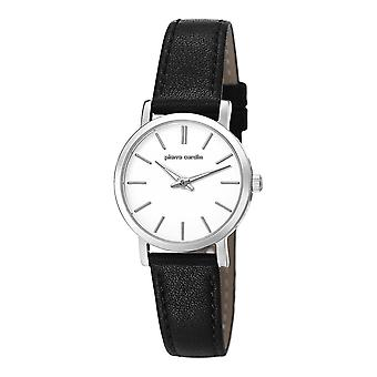 Pierre Cardin ladies watch wristwatch BONNE NOUVELLE leather PC106632F01