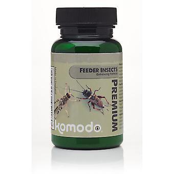 Komodo Premium insekter styrke formel 75g