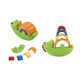 Fisher-Price Crocodile Stack and balance (Toys , Preschool , Babies , Stackable Toys)