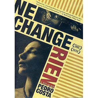 NE ændring Rien [DVD] USA importerer