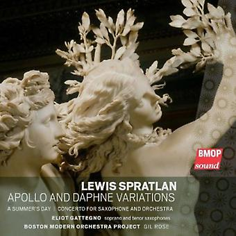 L. Spratlan - Apollo & Daphne variationer [CD] USA import