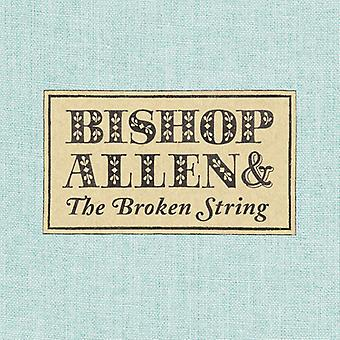 Biskop Allen - brudt String [CD] USA import
