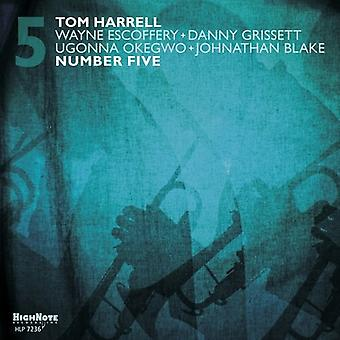 Tom Harrell - Number Five [Vinyl] USA import