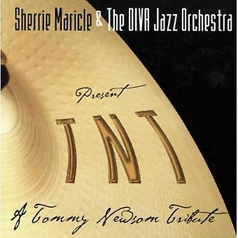 Diva Jazz Orchestra - Tnt: Tommy Newsom Tribute [CD] USA import