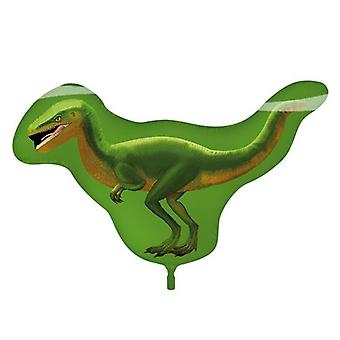 Foil balloon dinosaur Raptor green 81 x 57 cm balloon helium balloon