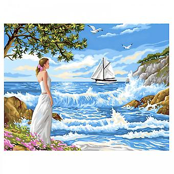 KSG Whispering Shores Large Painting By Numbers