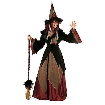 Witch dacha ladies costume sorceress Mage forest fairy ladies costume