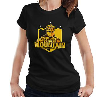 Mountain beskyttende tjenester Gregor Clegane Game Of Thrones kvinder T-Shirt