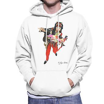 Rammellzee Graffiti Artist Men's Hooded Sweatshirt