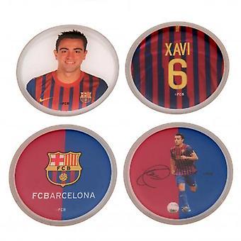 Barcelona 3D Stickers 4pk Xavi